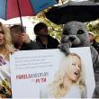 Pamela Anderson verzoekt Canadese premier om subsidies voor zeehondenslacht af te schaffen