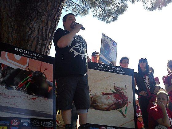Protest Alès