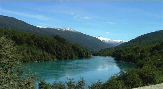 Río Baker - dammen