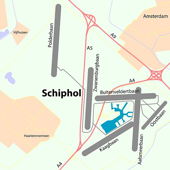 Schiphol overview