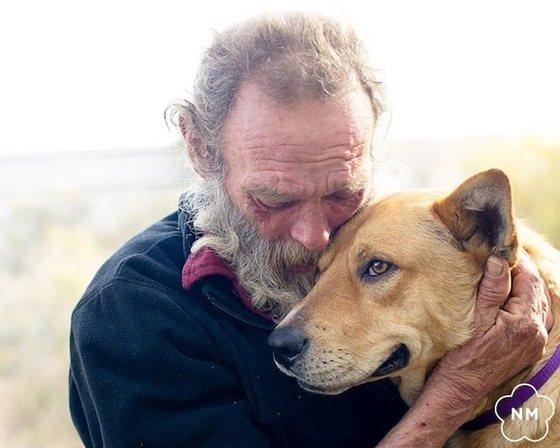 Steve en River - dakloze man