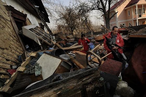 Vier Voeters in actie in de Oekraïne