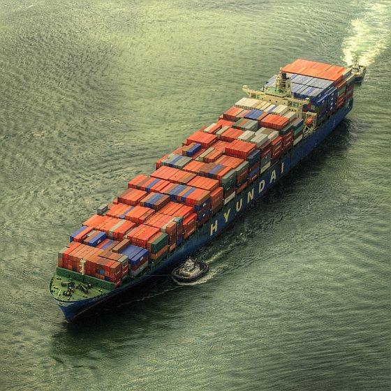 Vrachtschip - exoten