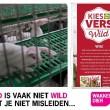 Wakker Dier: Lidl misleidt over 'wild uit de natuur'