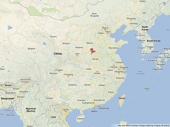 Yanshi - China - dode honden